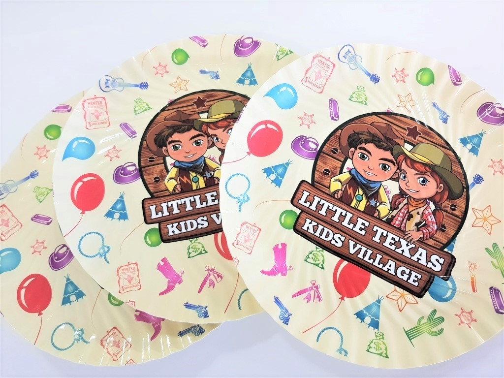 Farfurii Personalizate Party Kids D20 cm